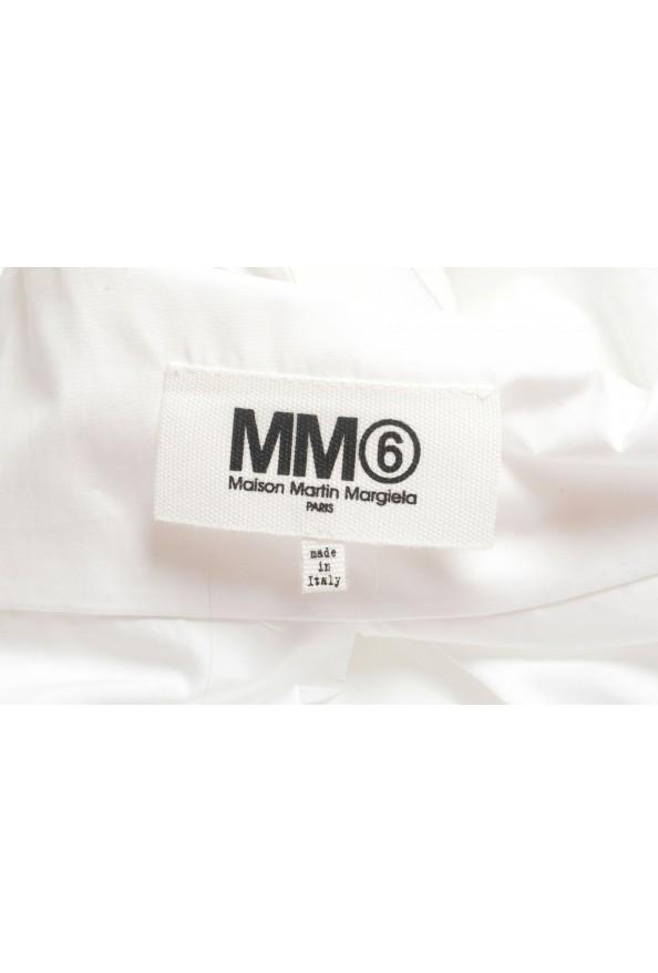 Maison Margiela MM6 Women's White Button Down Shirt: Picture 5