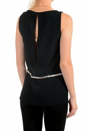 Dsquared2 Women's Black Sleeveless Blouse Top: Picture 3