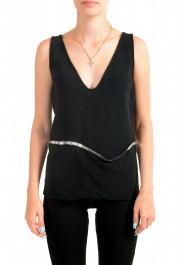 Dsquared2 Women's Black Sleeveless Blouse Top