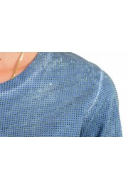 Dsquared2 Women's Distressed Look Sparkle Crewneck T-Shirt Top : Picture 4