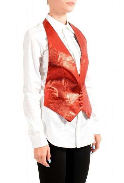 Maison Margiela Women's Sparkle Red Vest: Picture 2