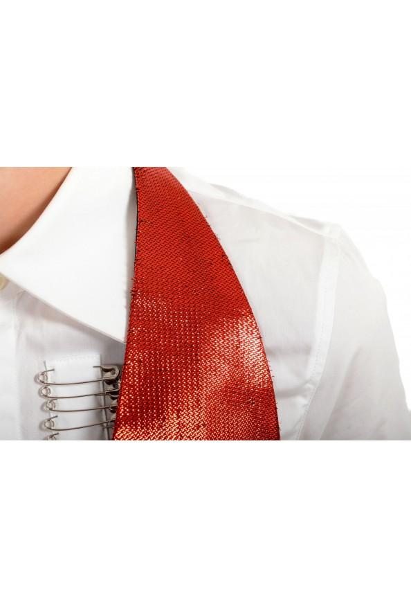 Maison Margiela Women's Sparkle Red Vest: Picture 4