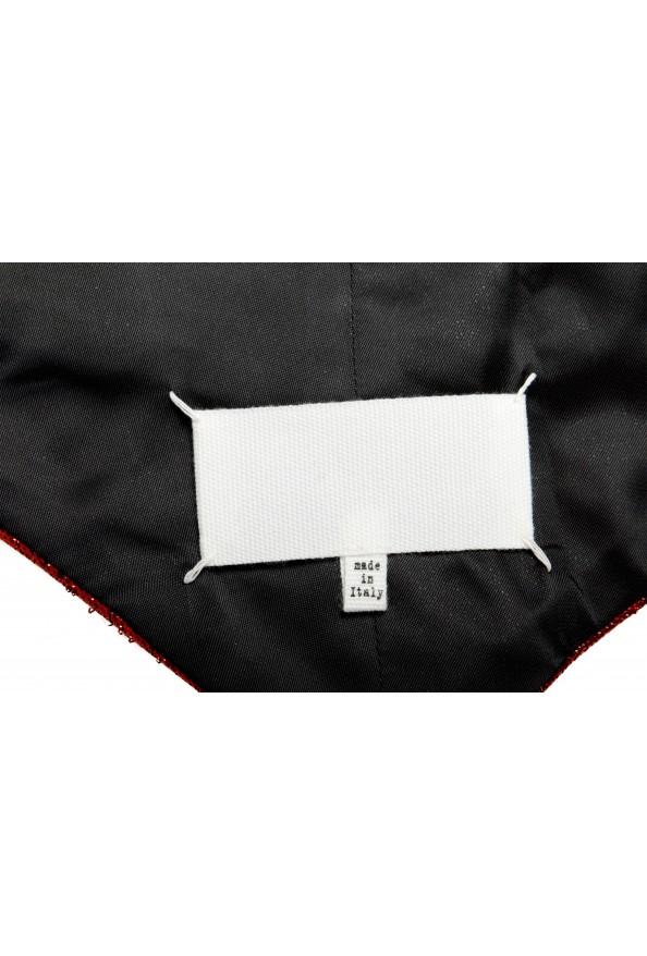 Maison Margiela Women's Sparkle Red Vest: Picture 5