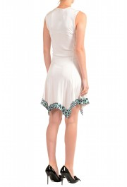 Just Cavalli Women's Pink Fit & Flare Sleeveless Dress : Picture 3