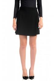 Just Cavalli Women's Black Skort Mini Shorts