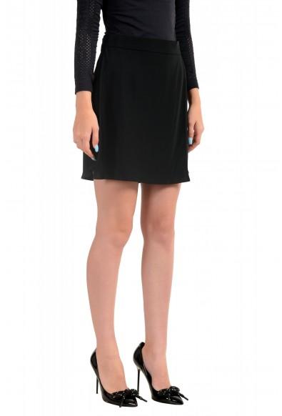 Just Cavalli Women's Black Skort Mini Shorts : Picture 2