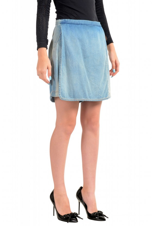 Just Cavalli Women's Denim Skort Mini Shorts: Picture 2