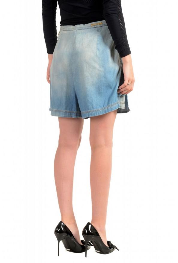 Just Cavalli Women's Denim Skort Mini Shorts: Picture 3