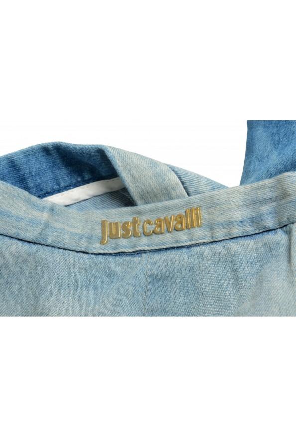 Just Cavalli Women's Denim Skort Mini Shorts: Picture 4