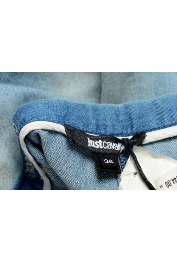 Just Cavalli Women's Denim Skort Mini Shorts: Picture 5