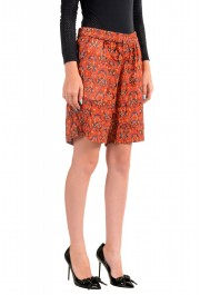 Just Cavalli Women's Multi-Color Silk See Through Shorts : Picture 2