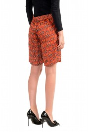 Just Cavalli Women's Multi-Color Silk See Through Shorts : Picture 3