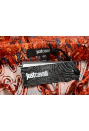 Just Cavalli Women's Multi-Color Silk See Through Shorts : Picture 5