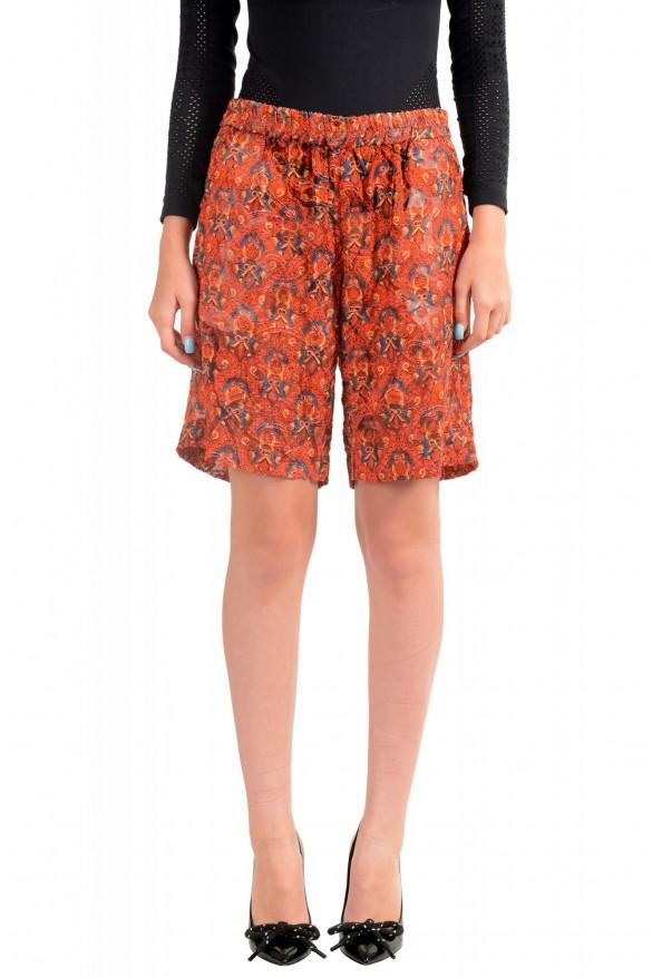 Just Cavalli Women's Multi-Color Silk See Through Shorts