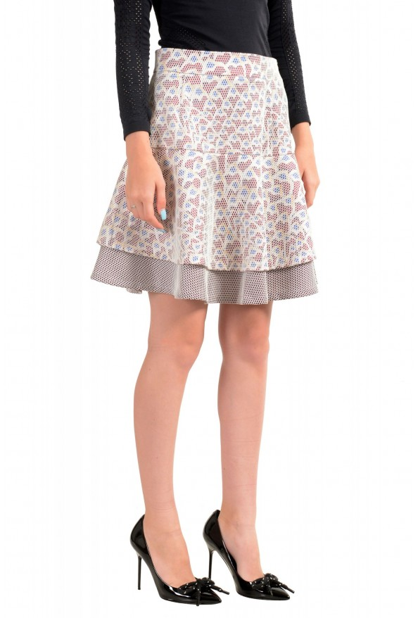 Just Cavalli Women's Multi-Color Fit & Flare Skirt : Picture 2