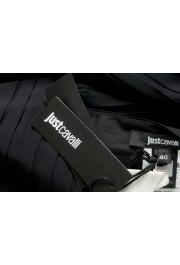 Just Cavalli Women's Black Textured A-Line Mini Skirt : Picture 5