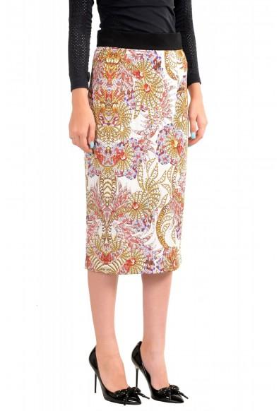 Just Cavalli Women's Multi-Color Stretch Pencil Skirt: Picture 2