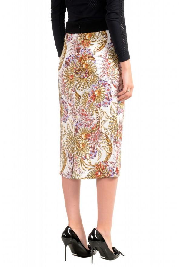Just Cavalli Women's Multi-Color Stretch Pencil Skirt: Picture 3