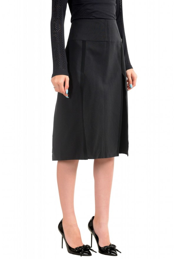 Just Cavalli Women's Black A-Line Skirt: Picture 2