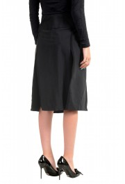 Just Cavalli Women's Black A-Line Skirt: Picture 3