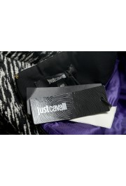 Just Cavalli Women's Multi-Color Wool Textured A-Line Skirt : Picture 5