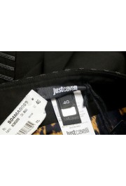 Just Cavalli Women's Black Textured Straight Pencil Skirt: Picture 4