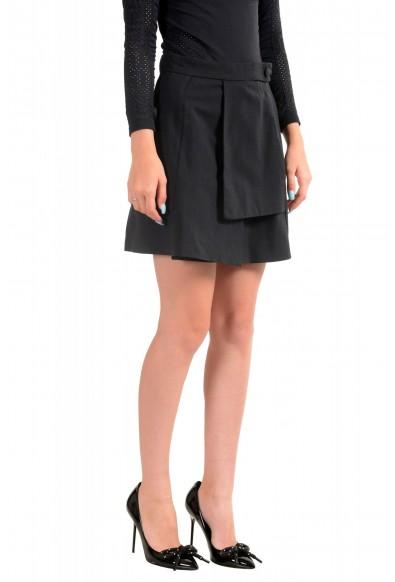 Just Cavalli Women's Black A-Line Mini Skirt: Picture 2