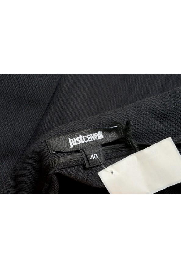Just Cavalli Women's Black A-Line Mini Skirt: Picture 4