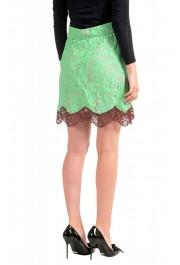 Just Cavalli Women's Multi-Color Lace A-Line Mini Skirt: Picture 3