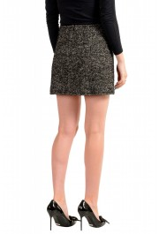 Dsquared2 Women's Gray Wool Silk Mohair Mini A-Line Skirt: Picture 3