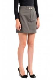 Maison Margiela MM6 Women's Gray Mini A-Line Skirt: Picture 2