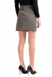 Maison Margiela MM6 Women's Gray Mini A-Line Skirt: Picture 3