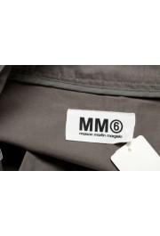 Maison Margiela MM6 Women's Gray Mini A-Line Skirt: Picture 4
