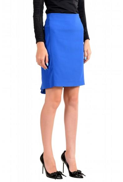 Viktor & Rolf Women's Royal Blue Pencil Straight Skirt: Picture 2