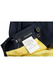 Dsquared2 Women's Navy Blue Mini A-Line Skirt: Picture 4