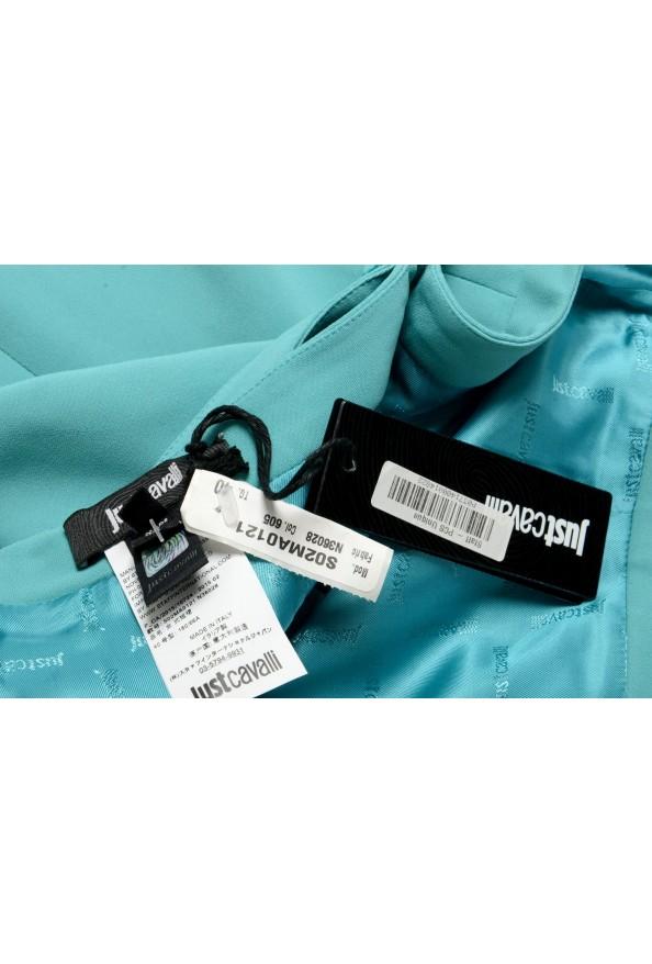Just Cavalli Women's Light Blue Belted Mini Skirt : Picture 5