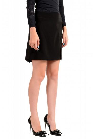 Versus by Versace Women's Black Mini A-Line Skirt: Picture 2
