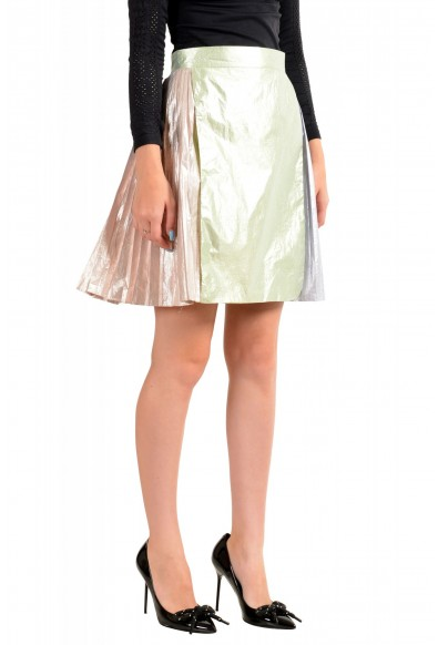 Just Cavalli Women's Multi-Color Pleated A-Line Skirt: Picture 2