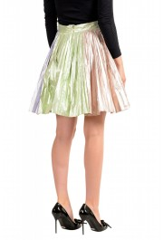 Just Cavalli Women's Multi-Color Pleated A-Line Skirt: Picture 3