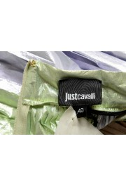 Just Cavalli Women's Multi-Color Pleated A-Line Skirt: Picture 4