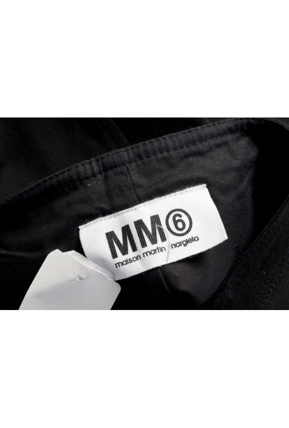 Maison Margiela MM6 Women's Black Straight Pencil Skirt: Picture 4