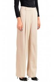 """Hugo Boss Women's """"Arula"""" Beige Pleated Dress Pants : Picture 2"""