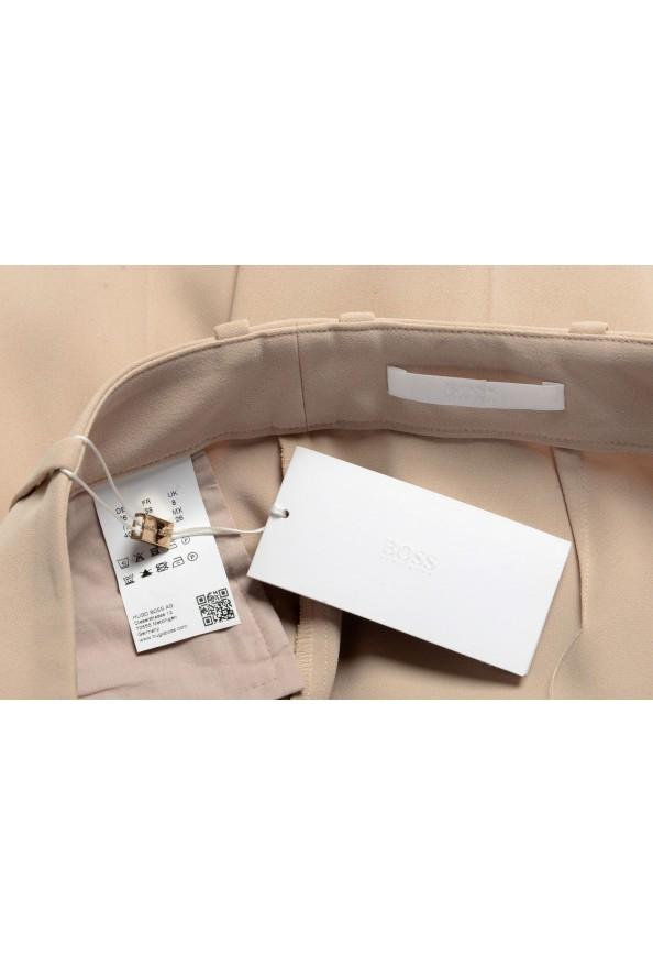 """Hugo Boss Women's """"Arula"""" Beige Pleated Dress Pants : Picture 5"""