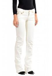 Just Cavalli Women's White Straight Leg Jeans : Picture 2