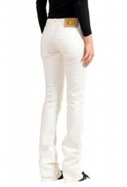 Just Cavalli Women's White Straight Leg Jeans : Picture 3