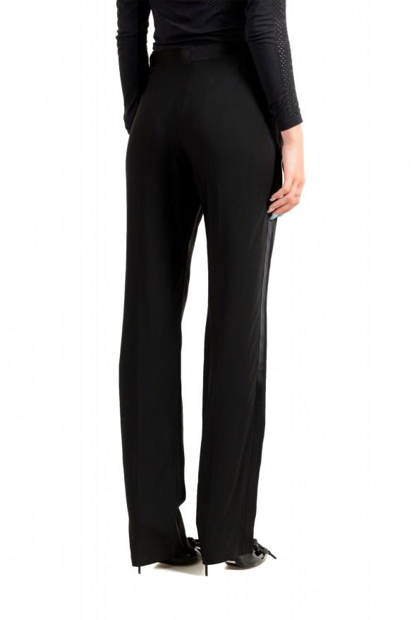 Maison Margiela Women's Black Wool Flat Front Dress Pants: Picture 3