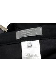 Maison Margiela Women's Black Wool Flat Front Dress Pants: Picture 5