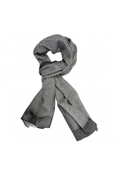 Salvatore Ferragamo Multi-Color Silk Wool Shawl Scarf
