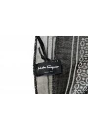 Salvatore Ferragamo Multi-Color Silk Wool Shawl Scarf: Picture 5