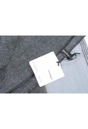 Salvatore Ferragamo Multi-Color Linen Wool Striped Shawl Scarf: Picture 6